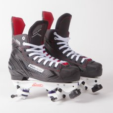 Bauer NS Quad Roller Skates - Sure-Grip Avanti Plate  (No Wheels/Bearings)