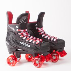 Bauer NS Quad Roller Skates - Custom - Ventro Wheels