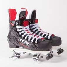 Bauer NSX Quad Roller Skates - Rock Plate (No Wheels/Bearings)