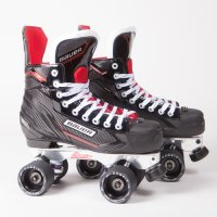 Bauer NSX Quad Roller Skates - Custom - Avanti Plate