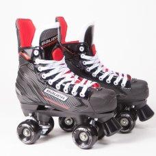 Bauer NSX Quad Roller Skates - Custom - Ventro Wheels