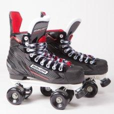 Bauer NSX Quad Roller Skates - Custom - Rock Plate
