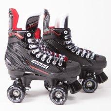 Bauer NSX Quad Roller Skates - Sure-Grip Aerobic Outdoor Wheels