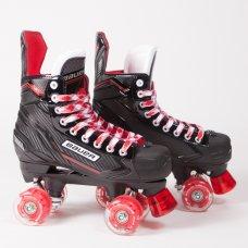 Bauer NSX Quad Roller Skates - Light Up Wheels