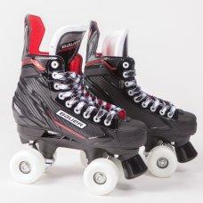 Bauer NSX Quad Roller Skates - Sims Street Snake Wheels