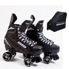 Bauer Supreme S140 Quad Skates - Custom - Ventro Wheels - With Bauer Bag