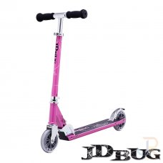 JD Bug Classic Street 120 Series Scooter - Pastel Pink
