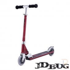 JD Bug Classic Street 120 Series Scooter - Red Glow Pearl