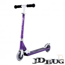 JD Bug Classic Street 120 Series Scooter - Purple Matt