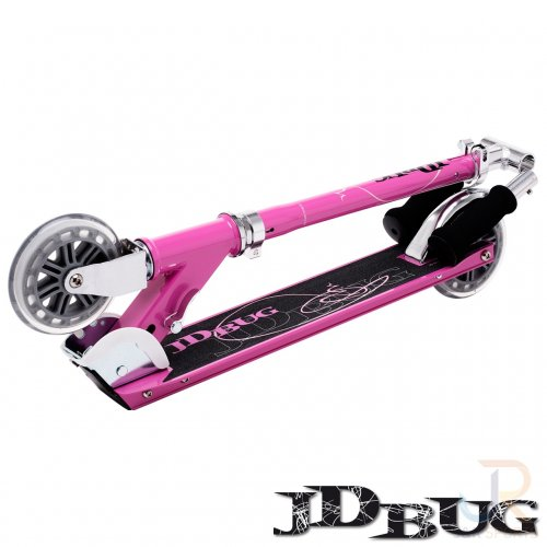 jd bug classic street 120 series scooter pastel pink oli s skate shop