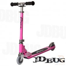 JD Bug Original Street Series Scooter - Pastel Pink