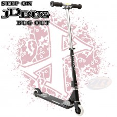 JD Bug Pro Street Series Scooter - Black V3.0