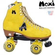 Moxi Lolly Pineapple Quad Roller Skates - Nylon Plate