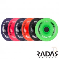 Radar Sonar Zen Outdoor Wheels 62mm 85A (Pack of 4)
