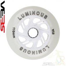 Seba 110mm Luminous Light Up Inline Skate Wheels (Pack of 4)