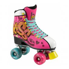 Powerslide Playlife Kiss Pink Roller Skates