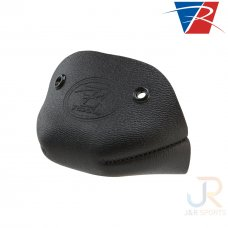 Riedell Leather Toe Caps (Pair) - Black