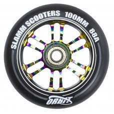 Slamm Neochrome 100mm Orbit Wheels