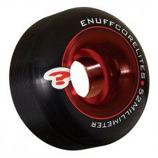 Enuff Corelites Skateboard Wheels Black/Red