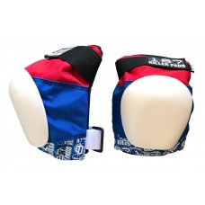 187 Killer Pro Knee Pads Red/White/Blue
