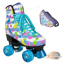 Rookie Fruits Quad Roller Skates With Matching Bag