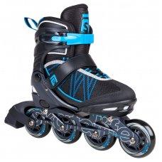 Skatelife Lava Adjustable Inline Roller Skates Blue/Black