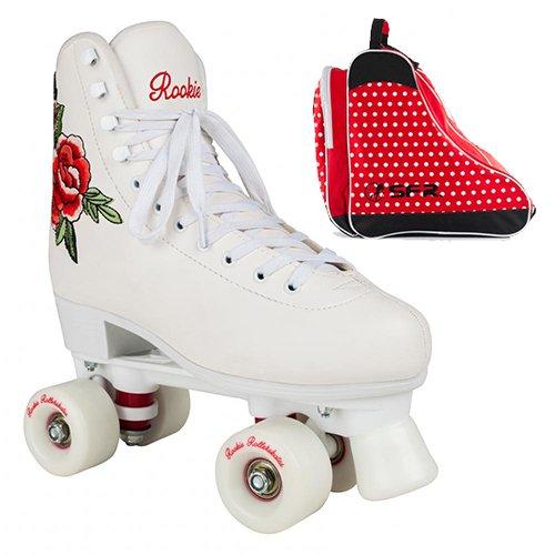 d6ad64aa8da Rookie Quad Roller Skates Rosa With Skate Bag ...