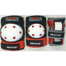 X-Fitter Junior 3 Piece Safety Pad Set