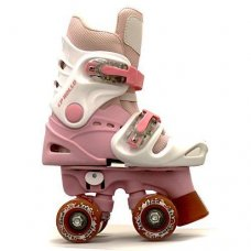 Ventronic Rollo Adjustable White/Pink Quad