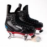 CUSTOM - Bauer Nexus N5000 Quad Roller Skates - Probe/Rock Plate - No Wheels