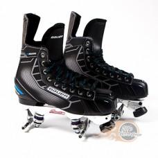 Bauer Nexus N5000 Quad Roller Skates -  Suregrip Avanti Plate