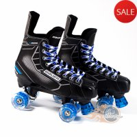 Bauer Nexus N5000 Quad Roller Skates - Playmaker - Light Up/Flashing Wheels