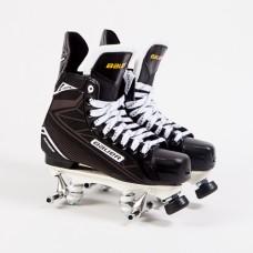 Bauer supreme S140 Quad Roller Skates - Probe/Rock Plate - No Wheels/Bearings