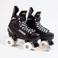Bauer Supreme S140 Quad Roller Skates - Sims Street Snake Wheels