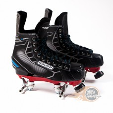 Bauer Nexus N5000 Quad Roller Skates - Custom - Probe/Rock Plate - No Wheels