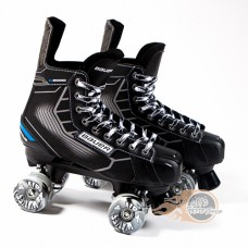 Bauer Nexus N5000 Quad Roller Skates - Playmaker - Airwaves Wheels
