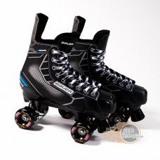 Bauer Nexus N5000 Quad Roller Skates - Kryptonics Wheels