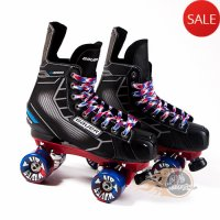 Bauer Nexus N5000 Quad Roller Skates - Custom - Probe/Rock Plate