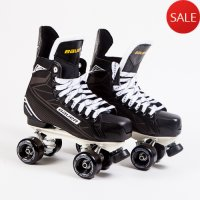 Bauer Supreme S140 Quad Roller Skates - Custom- Probe/Rock Plate