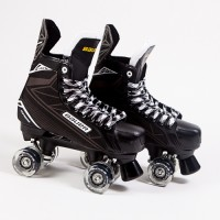 Bauer Quad Supreme S140 Quad Skates - Light Up/Flashing Wheels