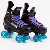 Bauer Supreme S140 Quad Skates - Custom - Ventro Wheels