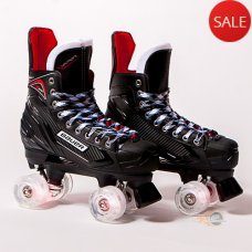 Bauer Vapor X300 S17 Quad Skates - Light Up/Flashing Wheels