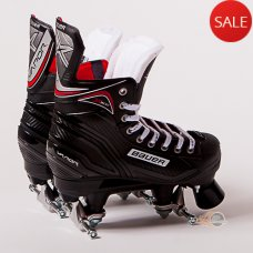 Bauer Vapor X300 S17 Quad Skates (No wheels/bearings)