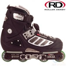Roller Derby CORR ATA 700 Agressive In Line Skates Black