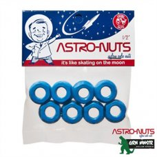 Grn Mnstr Astronuts Nylon Axle Nuts - Blue (set 8)