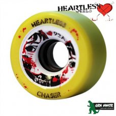Grn Mnstr Heartless Wheels - Chaser/Lemon - 62mm/92A (pk 4)
