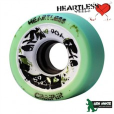 Grn Mnstr Heartless Wheels - Creeper/Mint - 59mm/90A (pk 4)