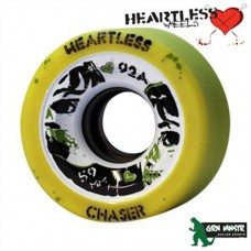 Grn Mnstr Heartless Wheels - Chaser/Lemon - 59mm/92A (pk 4)