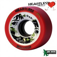 Grn Mnstr Heartless Wheels - Breaker/Tangerine - 59mm/94A