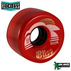 Grn Mnstr Reckless Wheels - Bliss Red - Pk 4